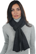 accessories scarves  mufflers calypso alpa charcoal marl 180 x 24 cm