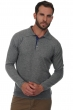 men polo style sweaters scott grey marl denim blue m