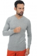 men v necks anael grey marl xxl