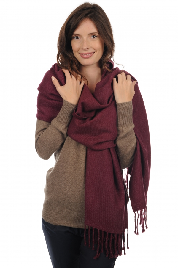 accessories shawls niry prune 200x90cm