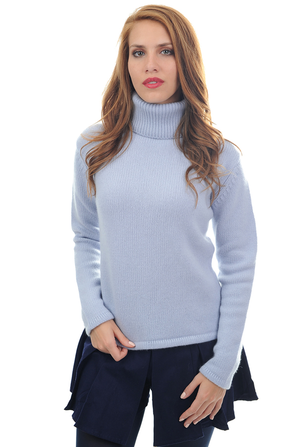 ladies polo necks carla kentucky blue s