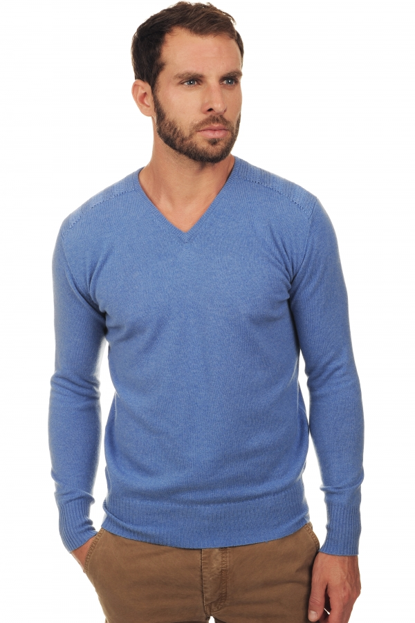 men v necks dustin blue chine s