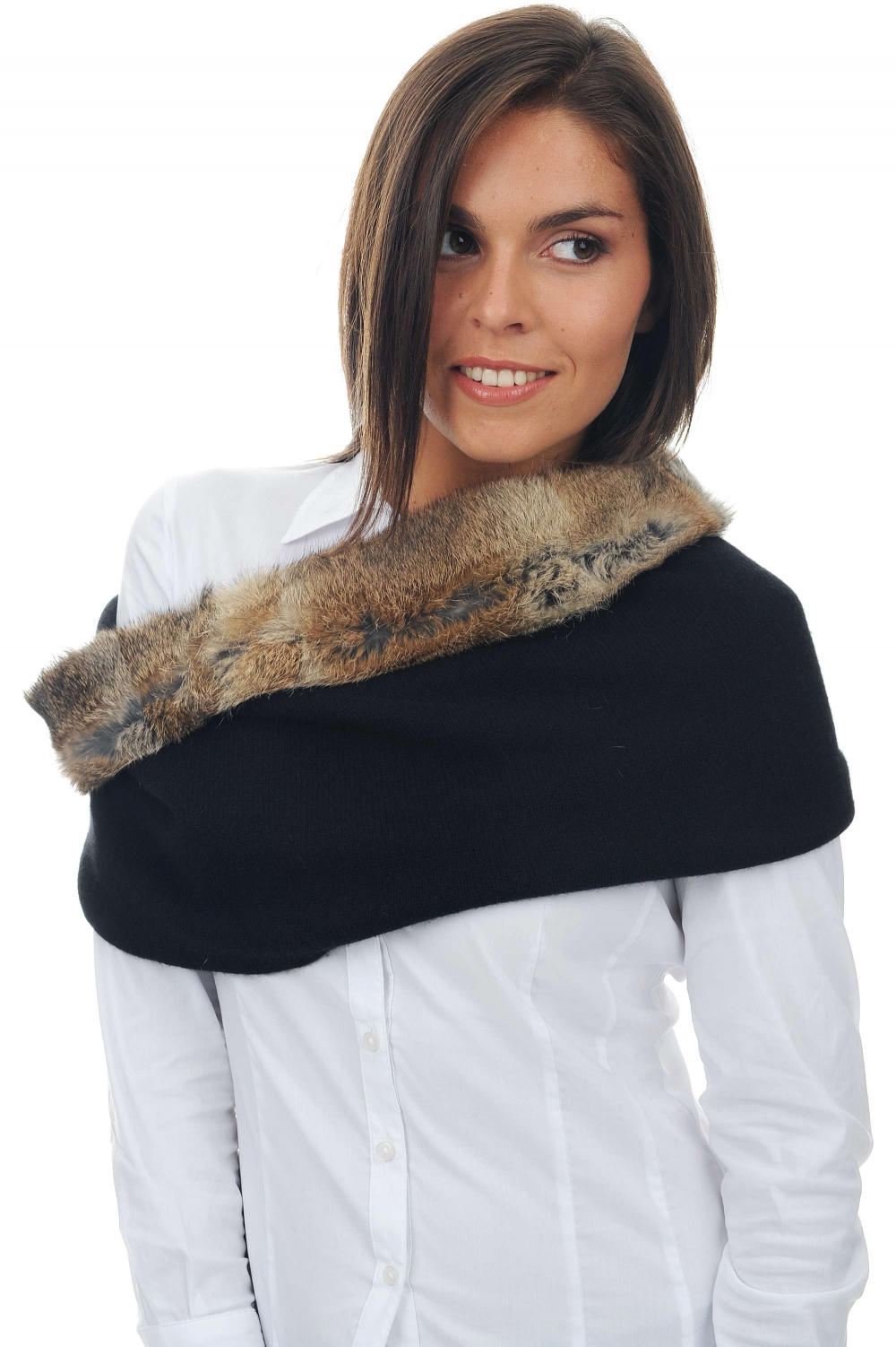 accessories snood filomena black 50 x 35 cm