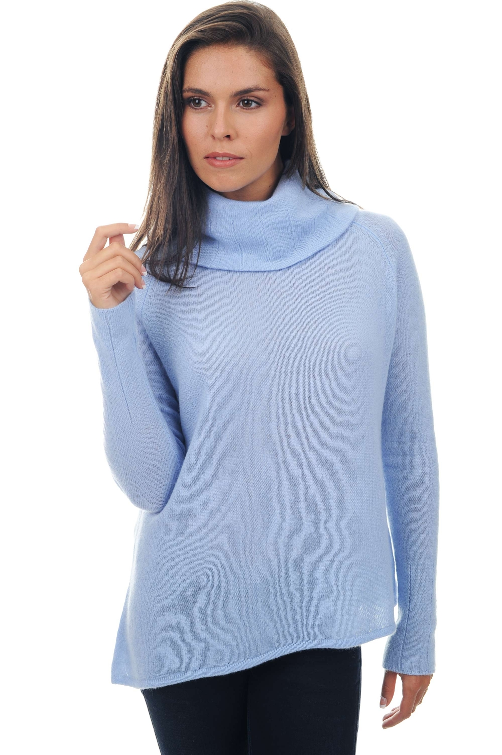 ladies polo necks ellen kentucky blue s
