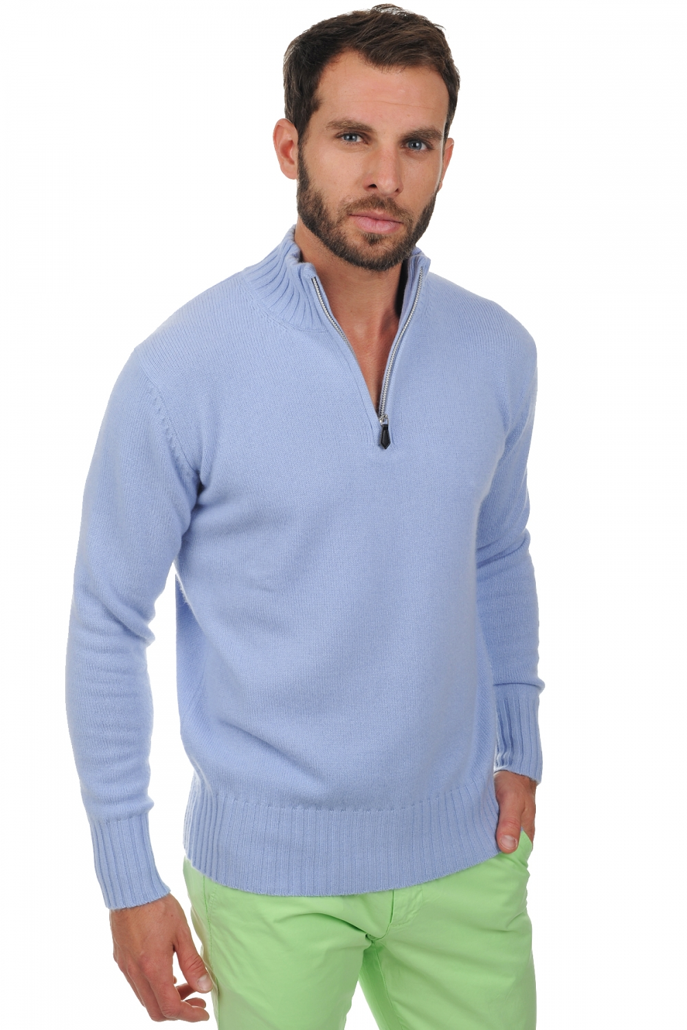 men polo style sweaters charles kentucky blue l