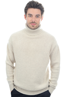 Cashmere  men chunky sweater achille