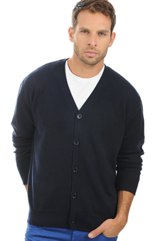 Cashmere  men chunky sweater leon