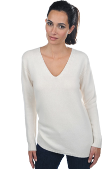 Cashmere  ladies chunky sweater vanessa