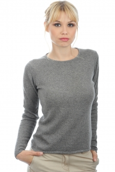 Cashmere  ladies round necks line