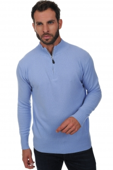 Cashmere  men polo style sweaters chazam