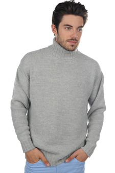 Baby Alpaca  men roll neck achille alpa