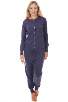 Cashmere  ladies pyjamas plume