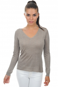 Cashmere & Silk  ladies v necks robine