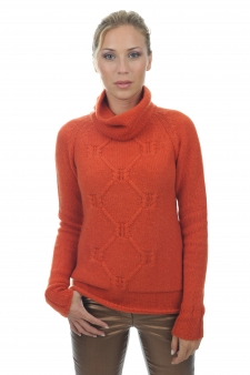 Cashmere  ladies chunky sweater april