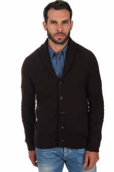 Cashmere  men chunky sweater harvey