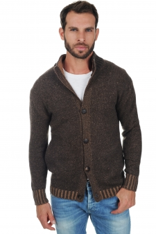 Cashmere  men chunky sweater astro