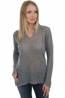 Cashmere  ladies v necks abelle