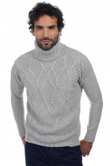 Cashmere  men roll neck elijah