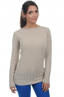 Cashmere  ladies round necks july