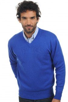 Cashmere  men chunky sweater hippolyte 4 ply