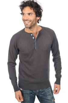 Cashmere  men polo style sweaters gustave