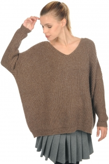 Baby Alpaca  ladies chunky sweater laziza