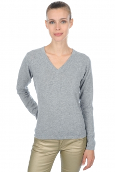 Cashmere  ladies v necks emma premium