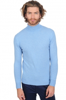 Cashmere  men roll neck tarry