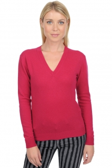 Cashmere  ladies v necks tessa
