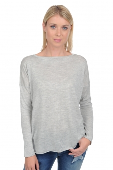 Cashmere & Silk  ladies round necks boussole