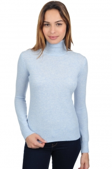 Cashmere  ladies polo necks lili