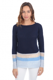 Cashmere  ladies round necks lysa
