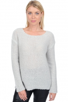 Cashmere  ladies chunky sweater maisie