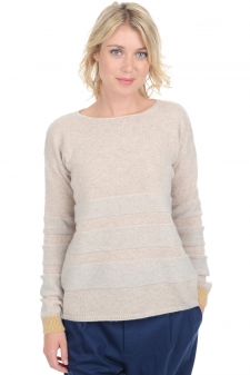 Cashmere  ladies chunky sweater marylou