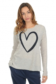 Cashmere  ladies round necks sallya