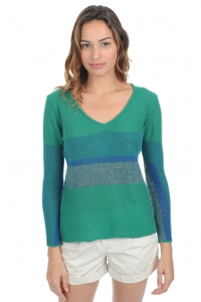 Cashmere  ladies chunky sweater sansa