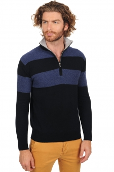 Cashmere  men polo style sweaters jaime