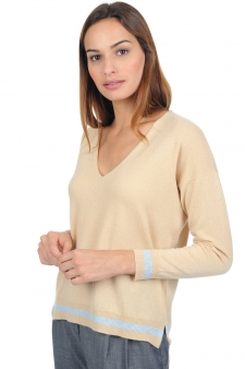 Cashmere  ladies v necks leisha
