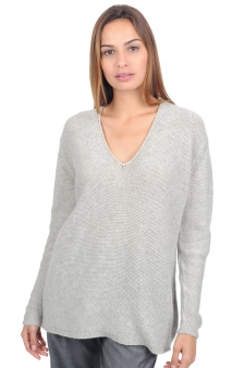 Cashmere  ladies chunky sweater osha