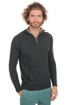 Cashmere  men polo style sweaters tywin