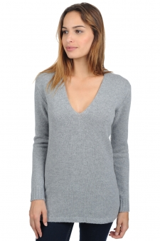 Cashmere  ladies chunky sweater vanessa premium