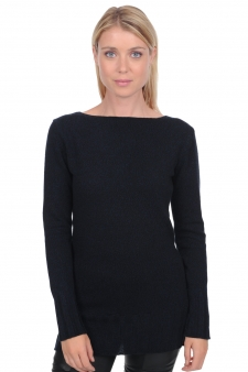 Cashmere  ladies round necks laurel