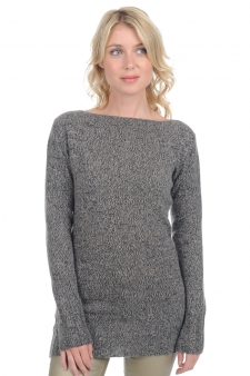 Cashmere  ladies chunky sweater laurel