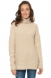 Cashmere & Camel ladies roll neck gribelle nature   vintage beige chine s3