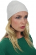 Cashmere accessories beanie tetous ecru one size