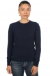 Cashmere ladies basic sweaters at low prices thalia dress blue m
