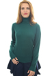 Cashmere ladies roll neck lili evergreen xl