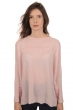 Cashmere ladies round necks hannah shinking violet   shocking pink s1