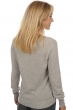 Cashmere ladies round necks joabelle flanelle chine s