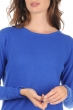 Cashmere ladies round necks yuna lapis blue s